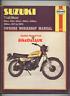 Suzuki Trail Bikes TS 250 400 185 125 (1971-1978) Haynes Service Manual TC BV16