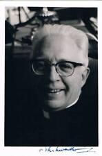 Bishop Theodorus Henricus Johannes Zwartkruis 1909-83 autograph signed 3x4 photo