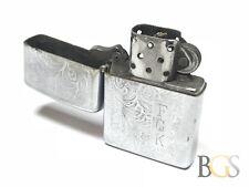 Vintage 1969 Ornate Design Zippo Lighter 'FGK' - Take A Look! - Wow!