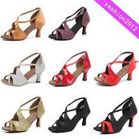 Brand New Women  Ballroom Latin Tango Dance Shoes heeled Salsa Dancing Shoes B62