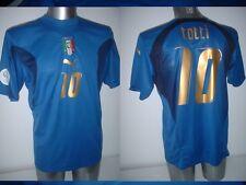 ITALIA ITALIA SHIRT PUMA ADULTO GRANDE TOTTI SOCCER FOOTBALL JERSEY VINTAGE 4 ROMA