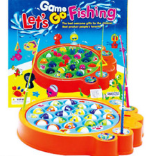 Kids Lets Go Fishing Game Battery Operated Family Game 4 Players