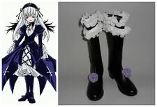 Rozen Maiden Suigintou Cosplay Costume Boots Boot Shoes Shoe
