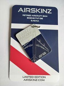 Airskinz British Airways 747 200
