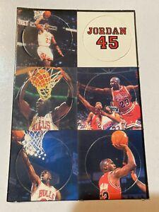 MICHEAL JORDAN Pogs / Milk Caps on Card  #23 CHICAGO BULLS  1990s