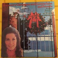 """Loretta Lynn and Friends """"A Country Christmas"""" LP ERNEST TUBB, BRENDA LEE VG+/EX"""