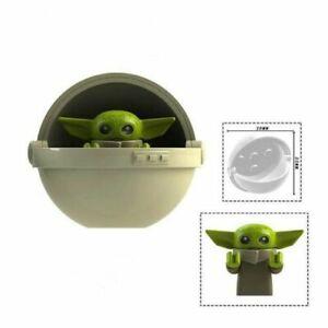 Little Yoda Mandalore Yoda Baby Mini Figurine Jedi Star Wars