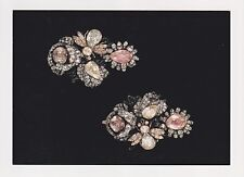 Jewels/Treasures of the Romanovs Russian Imperial Court POSTCARD Pair Earrings