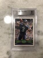 2012 TOPPS Russell Wilson #165 SEATTLE SEAHAWKS ROOKIE RC BGS 9 MINT