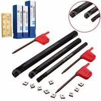 """11IR 1//4/"""" insert internal Turning Tool threading Holder 3pc SNR 8mm+10mm+12mm"""