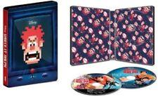 STEELBOOK Wreck-It Ralph 4k Ultra HD Blu Ray, 2018, Disney