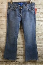 Fcuk Boot Flare Jeans Women's Size 6 Medium Wash Low Rise Denim