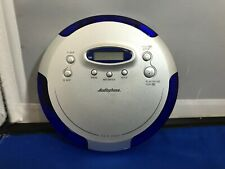Audiophase Cd-315 Portable Cd Compact Disc Player Blue Anti Skip Personal Tested