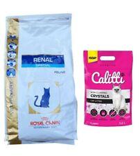4kg Royal Canin Renal Special RSF 26 Veterinary Diet + 3,8L Calitti Silikatstreu