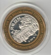 2003 Reno Tahoe Airport 3 of 5 LE Carson City .999 Fine Silver $10 Casino Token