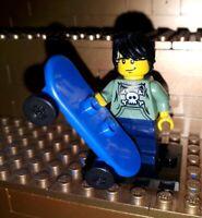 Lego Figur Serie 1 Skateboarder Minifig