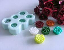 Nicole R0404 3D Rose Flower Resin,Clay Crafts Silicone Molds Soap Candle Moulds