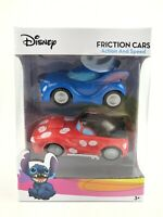 Disney Movie  Lilo & Stitch Figure Friction Cars - Action and Speed Ages 3+ NEW