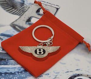 Bentley Key Chain Key Ring Steel Keychain Bentley Arnage T Label Flying Spur