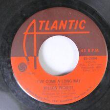 Soul 45 Wilson Pickett - I'Ve Come A Long Way / Jealous Love On Atlantic