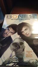 BONES: the complete Sixth Season cradle to grave edition 6 disc set DVD