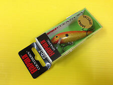 Rapala Countdown CD-7 HFGF, Hologram Flake Gold Fluo. Japan Special Color Lure.