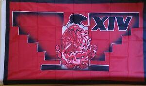 Huelga Bird 3X5 Flag Mexico Chicano Farmero Indoor/Outdoor Use