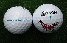 12 neue Srixon UltiSoft  Ulti Soft  Golfbälle  mit Shark Logo