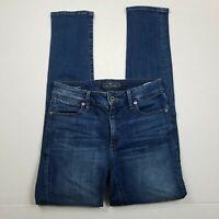 Lucky Brand Hayden Skinny Jeans Womens Size 2 Blue Medium Wash Stretch Denim