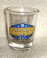 GOLDEN STATE WARRIORS 2015 NBA Champions CHAMPS champions Shot GLASS NE