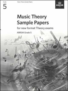 ABRSM Music Theory Sample Papers Grade 5 Sheet Music SAME DAY DISPATCH