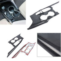 Black Carbon Fiber Inner Gear Shift Box Panel Cover Trim For Toyota Camry 2018