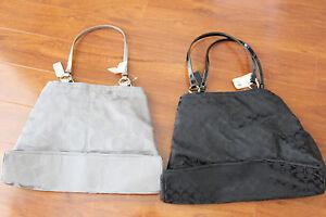 NWT COACH 14863 19291 GABBY SIGNATURE TOTE DIAPER BAG 2 color,