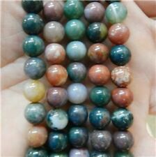 """10mm India Multicolor Agate Onyx Round Loose Beads Gemstones 15"""""""