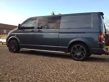 VW TRANSPORTER T5 - Top Quality - Roof Rack System - Stainless Steel & Aluminium