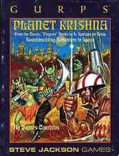 Steve Jackson Games GURPS PLANET KRISHNA 6080 EXC+!