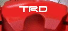 Toyota TRD Caliper Decals (8)