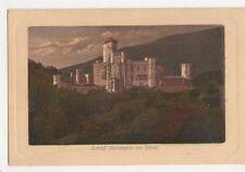 Schloss Stolzenfels Am Rhein Germany Vintage Postcard 474a