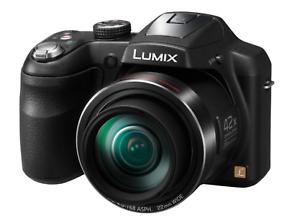 Panasonic LUMIX DMC-LZ40 20.0MP Digital Camera - Black