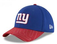 New New York Giants New Era 39Thirty Official Sideline Hat Cap Red