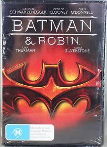 "BATMAN AND ROBIN (DVD, 2008) BRAND NEW / SEALED ""REGION 4"""