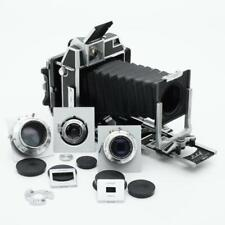 Linhof Super Technika 23 III Camera w/ 3 Cam Matched Lenses (Xenotar F/2.8)