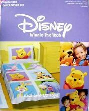 ~ Winnie the Pooh - DOONA QUILT / DUVET COVER (Squares)