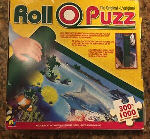 Original ROLL-O-PUZZ  - Jigsaw Puzzle Roll-Up Storage Set  -  Up to 1000 Pieces