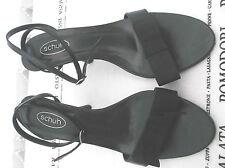 """""""schuh"""" ladies black stilettos size 4"""