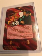 DAGOBERT : Illuminati German INWO CCG 1996 card, Super Rare UNIQUE Group, duck ?