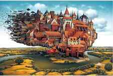 "Jigsaw Puzzles 1000 Pieces ""Loading cities"" / Jacek Yerka"
