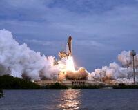New 8x10 NASA Photo: Final Space Shuttle Flight, Atlantis Mission STS-135