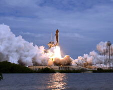 New 8x10 NASA Photo: Final Space Shuttle Flight, Atlantis Mission STS-135