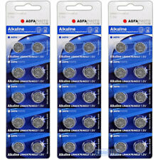 30 x LR44 AGFA 1.5V Alkaline Button Cell Watch Battery AG13, A76, V13GA, L1154